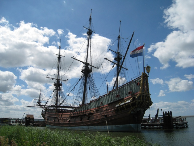 Batavia Replica -  © 2012 Kelby Rose, from the Nautical Archaeology in the 21st Century blog